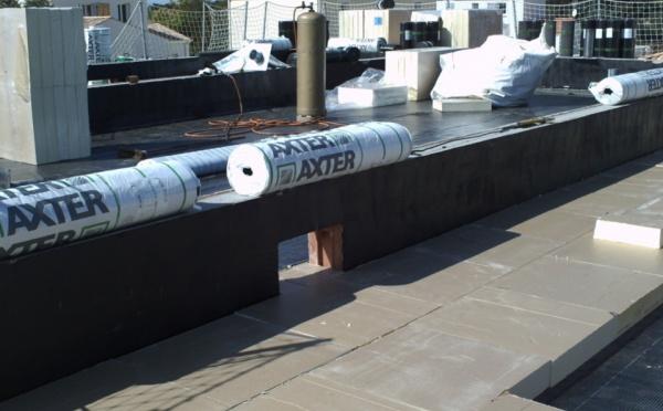 L'étanchéitée d'une toiture terrasse